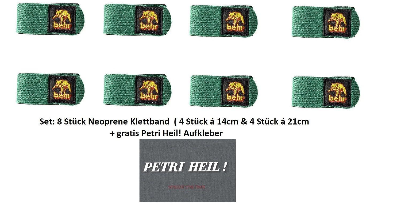 Behr Neopren-Klettband Neopren Klettbänder Rutenbänder Rutenband