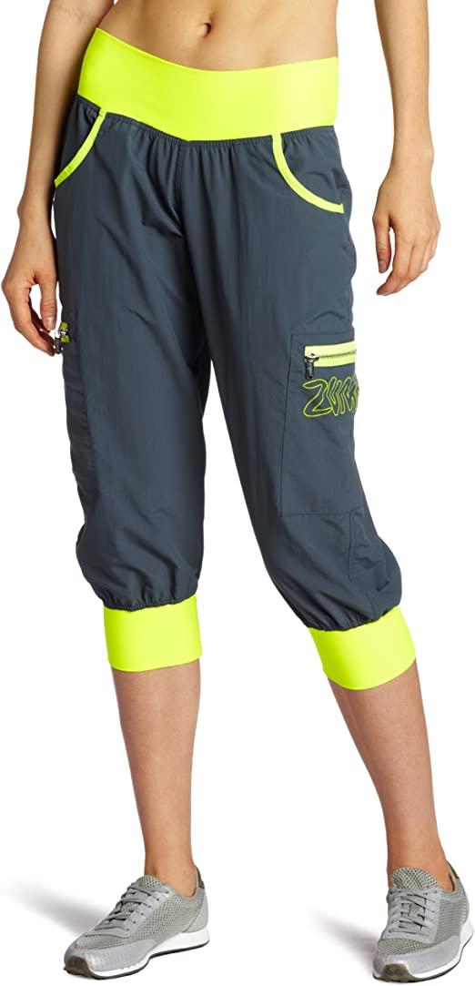 Zumba Fitness Womens Ultimate Orbit Cargo Capri