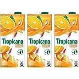 Tropicana Orange Delight Fruit Juice, 1L (Pack of 3)