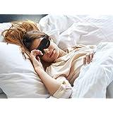 Deepsleepro 3D contour Sleep Mask with Free Ear Plugs Best Sleeping Mask Eye Cover for Sleep, Travel, Nap, Meditation sleep helper for Men, Women