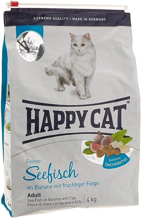 Happy Cat Sensitive Grain Free Sea Fish Comida para Gatos ...