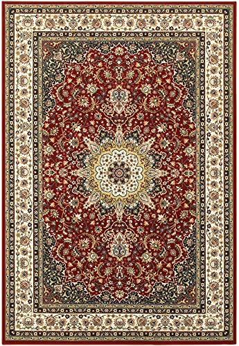 Oriental Weavers Kashan Area Rug, 4 x 6 , Red Ivory