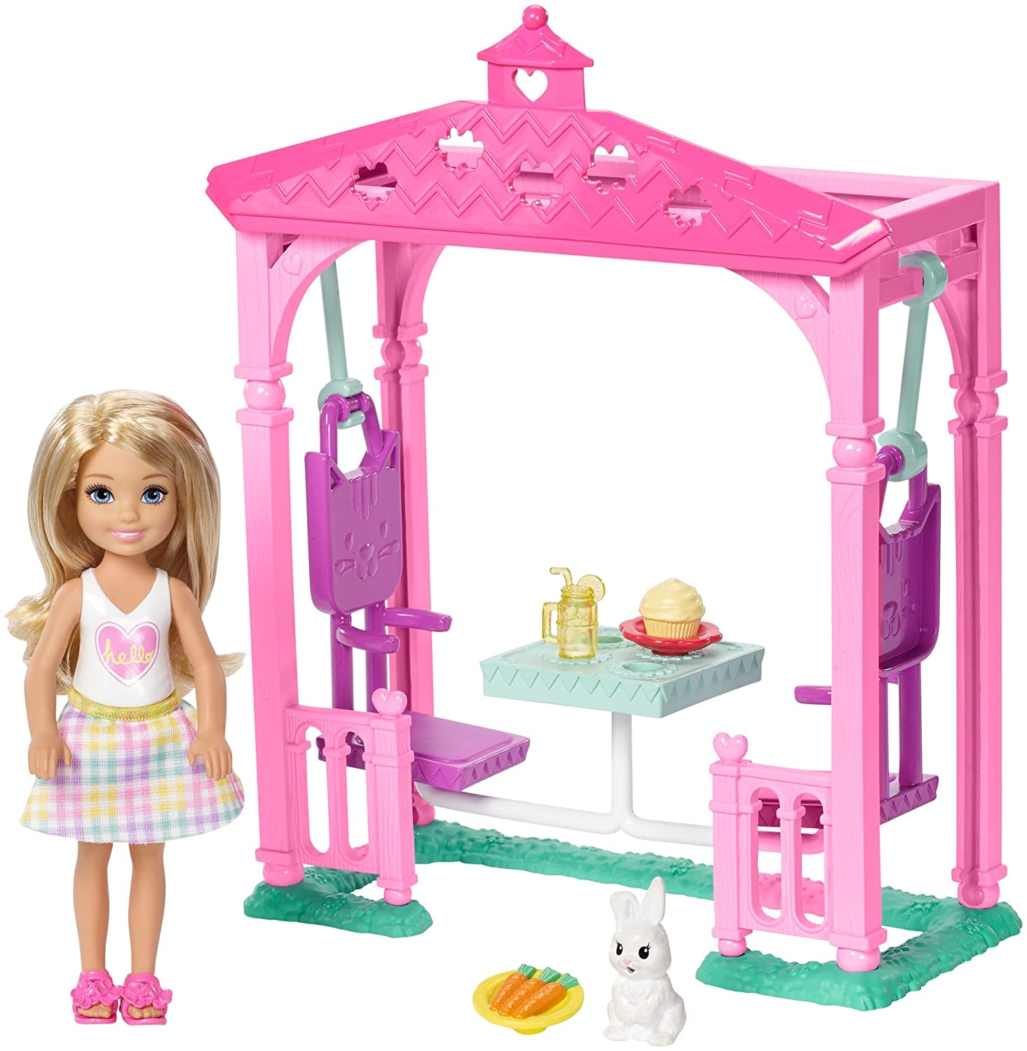 Barbie Club Chelsea Picnic Doll & Playset Mattel FDB34