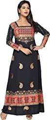 Unifiedclothes Women Fashion Pakistani Indian Kurti Tunic Kurta Top Shirt Dress KFT101A
