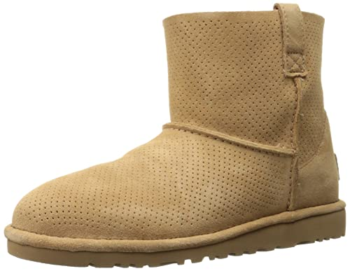 8c5691463a4 UGG Women's Classic Unlined Mini Perf, Beige (Tawny), 8.5 UK (10 US ...