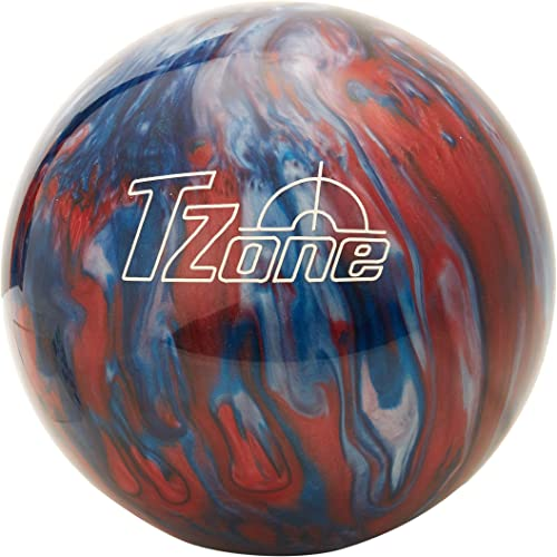 Brunswick TZone Patriot Blaze Bowling Ball 9-Pounds