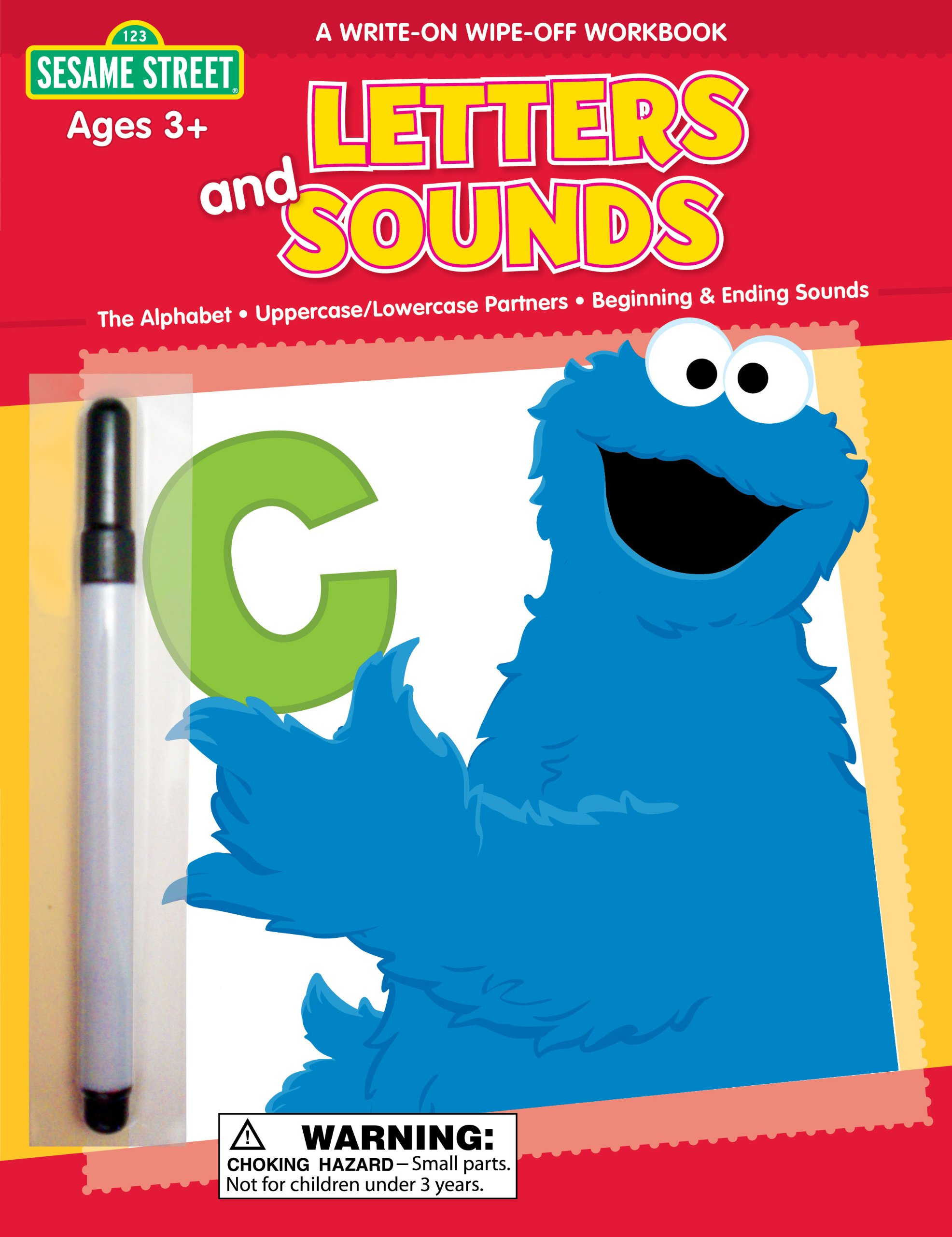 Sesame Street Letters & Sounds Write-On Wipe-Off Workbook (1 2 3 Sesame Street) pdf epub