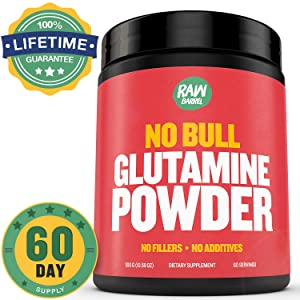 Raw Barrel's - Pure L Glutamine Powder