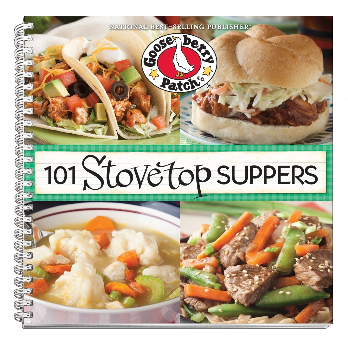 101 Stovetop Suppers: 101 Quick & Easy Recipes That Only use One Pot, Pan  or Skillet! (101 Cookbook Collection): Gooseberry Patch: 9781620930298: ...