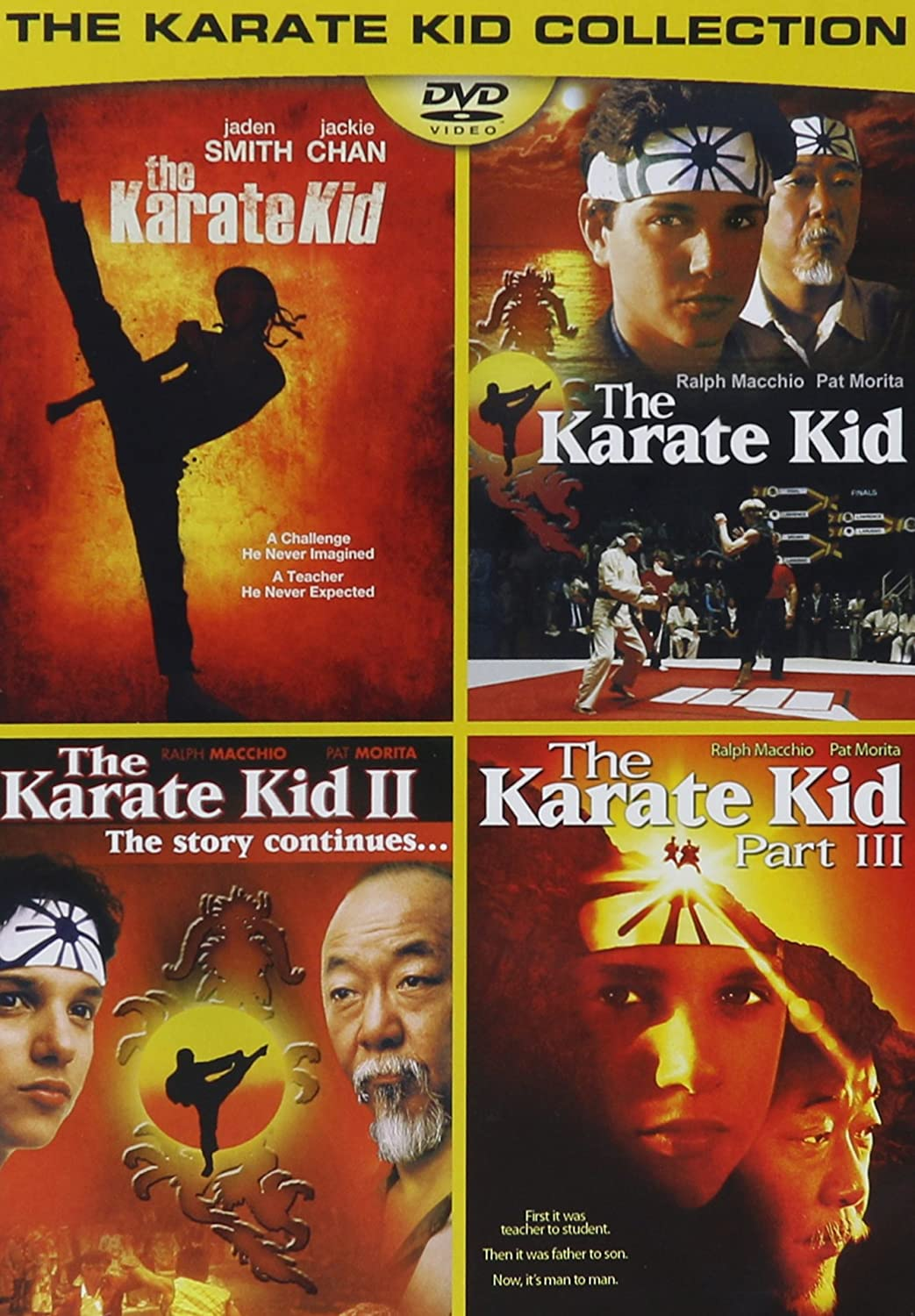 Amazon Com The Karate Kid Collection Movies Tv