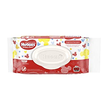 Huggies Huggies Simply Clean Fragrance-Free Baby Wipes