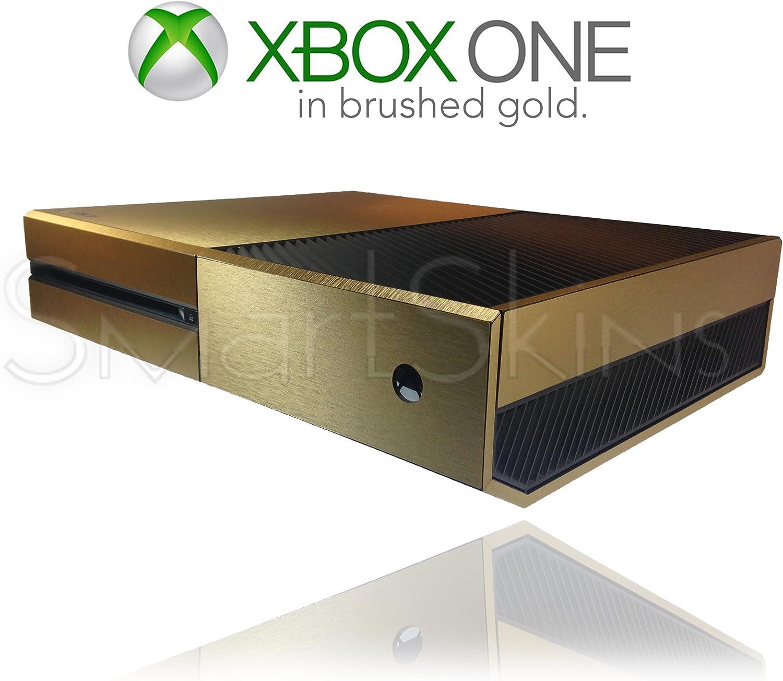 Microsoft Xbox One Brushed Gold Skin Wrap Cover Decal [Importación Inglesa]: Amazon.es: Videojuegos
