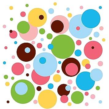 Amazoncom WallCandy Arts Wall Decal Dottilicious Polka Dot Wall  sc 1 st  diggylane.com & Wall Candy Art Stickers Amazoncom WallCandy Arts Wall Decal French ...