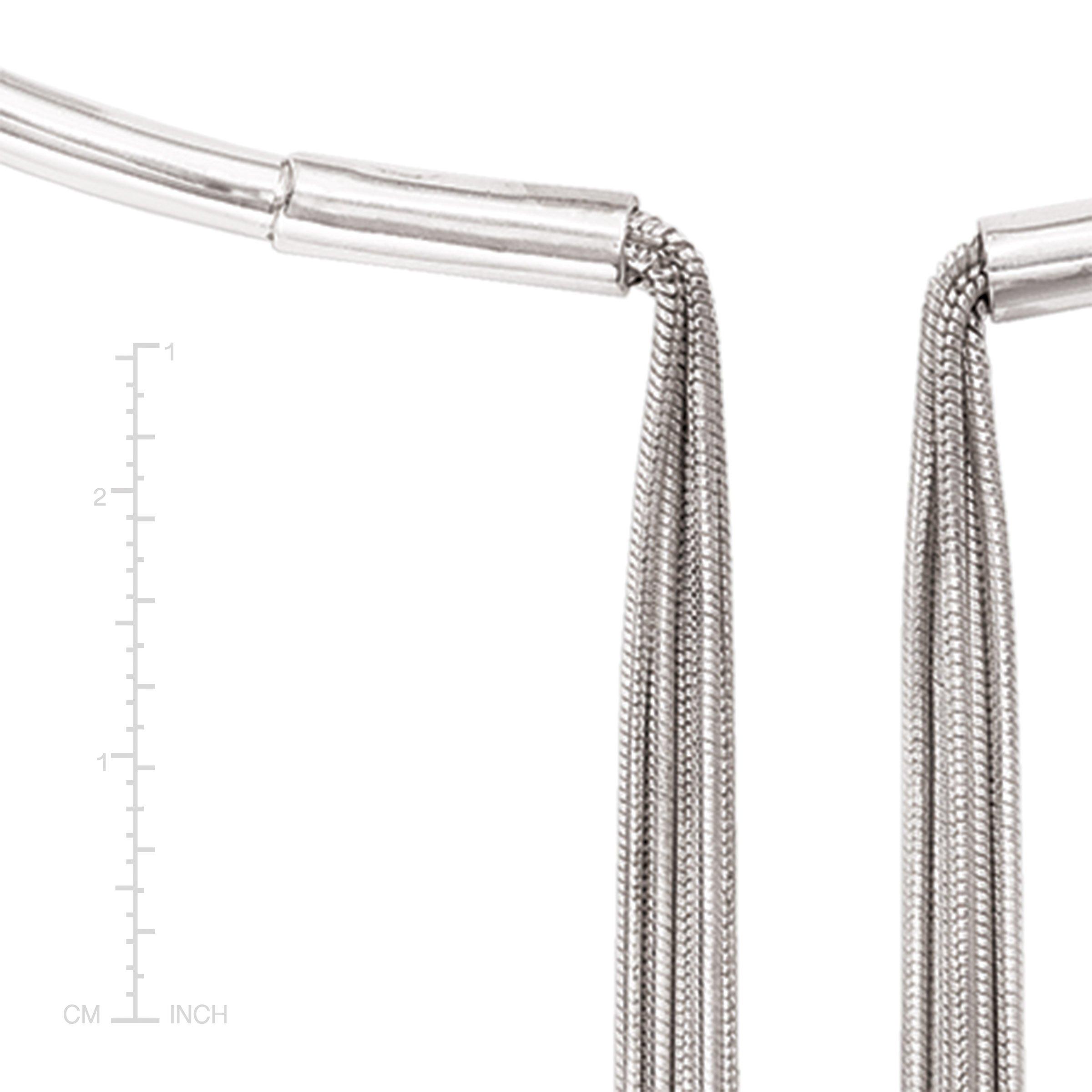 Silpada Sterling Silver Asymmetrical Collar Necklace, 16.5'' by Silpada (Image #4)