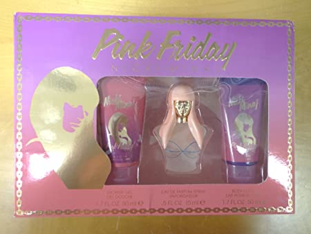 Nicki Minaj Pink Friday Shower Gel, Parfum Spray, Body Lotion Gift Box