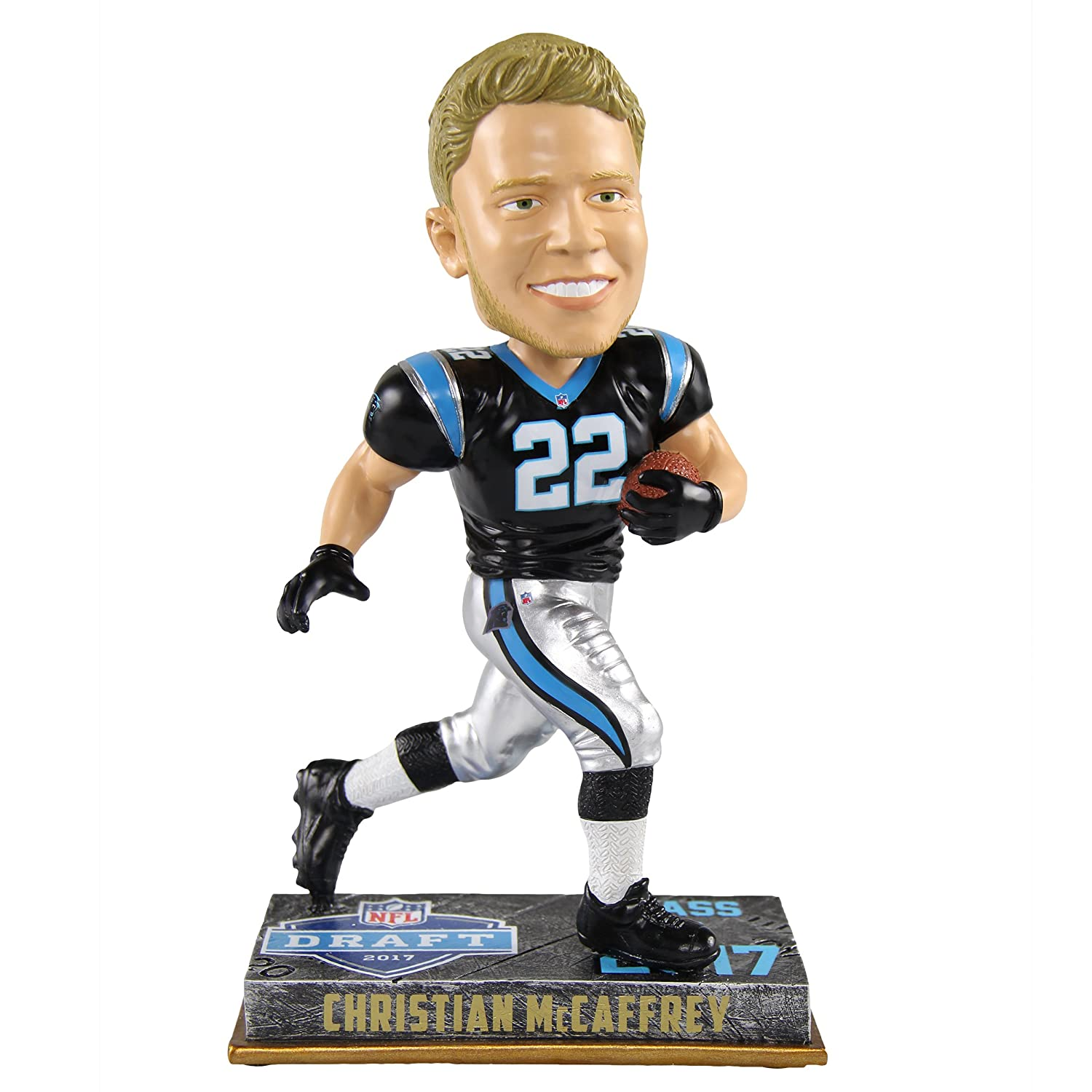 Christian McCaffrey Carolina Panthers 2017 NFL Rookie Bobblehead NFL FOCO