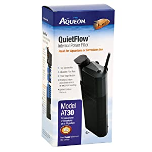 Aqueon Quietflow internal power filter AT30