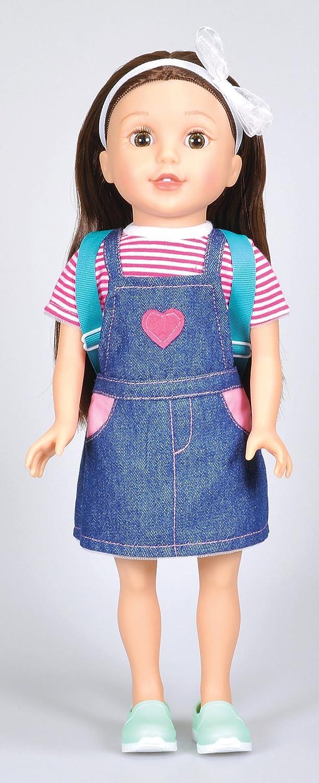 15 Bumbleberry Girls Kids Paige Girl Doll Brown Hair Lotus Onda us toys LP610 15002 Exclusive