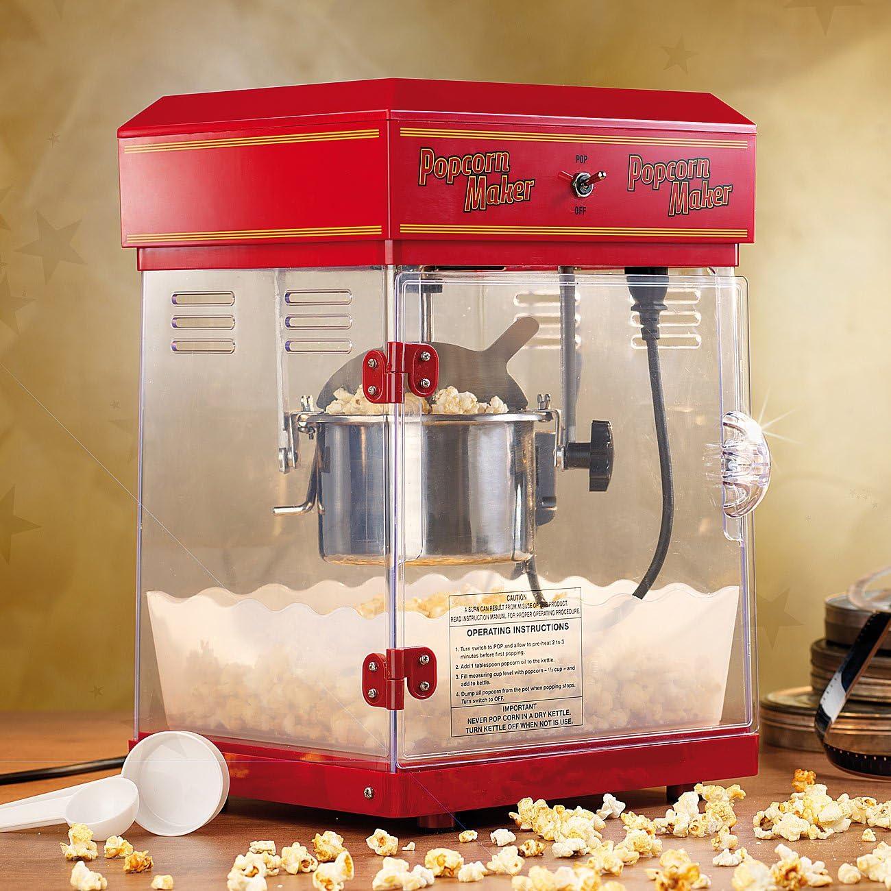 Auch Rosenstein & Söhne stellt hochwertigen Popcornmaschinen her.