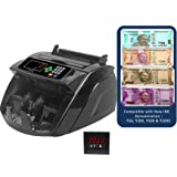 Stok Notes Counting Machine with False Note Detector with LCD Display and Beep Function (Black, ST-MC05)