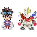 Digimon Fusion Mikey + Shoutmon X4 Action Figure