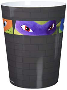 Teenage Mutant Ninja Turtles Nickelodeon Crash Landing Waste Basket