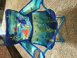 Amazon Com Disney Finding Dory Fold N Go Chair Toys Amp Games