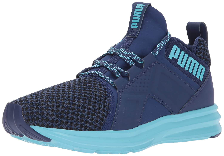 PUMA Women's Enzo Terrain Wn Sneaker B06XWW8ZZC 10 M US|Blue Depths-nrgy Turquoise