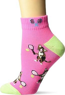 b6d4311468141 K. Bell Socks Women's Novelty Fashion Athletic Quarter Socks