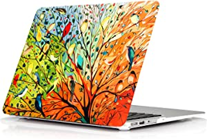 YMIXPlastic Cover Snap on Hard Protective Case for MacBook Pro 13