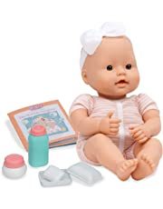 Baby Sweetheart by Battat – Bath Time 12-inch Soft-Body Newborn Baby Doll with Easy-to-Read Story Book and Baby Doll Accessories