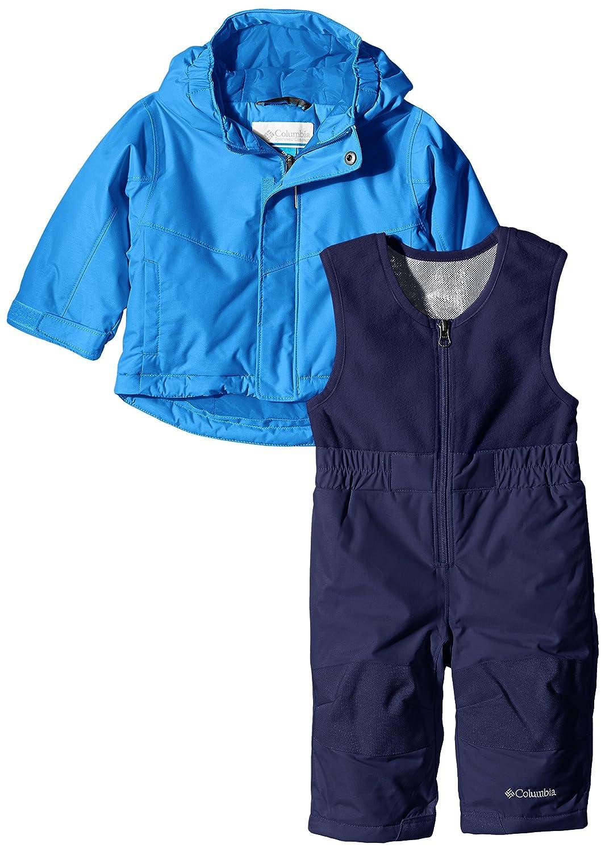 Hyper Blue Tuta da Neve Bambino 6//12 Mesi Columbia Blu