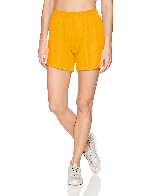 Augusta Sportswear Women's Wicking Mesh Shorts Augusta Sportswear Holdings Inc 960-P