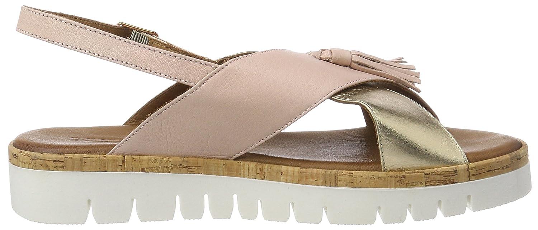 Inuovo Damen 8977 Peeptoe Sandalen Pink Pink Sandalen (Blush-gold) 1f03e1