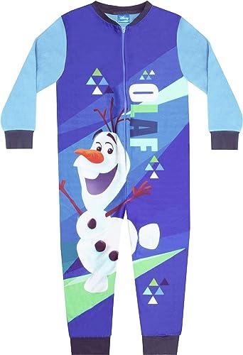 Disney Frozen 2 Olaf Boys Microfleece Character Onesie