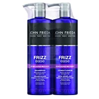 John Frieda Duo Pack Frizz Ease Miraculous Recovery Hair Repairing Shampoo and Conditioner Set for Dry and Damaged Hair, 2 x 500 ml