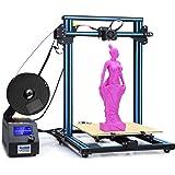 ALUNAR 新型3DプリンターDIY Prusa I3キット 無騒音 大型印刷サイズ300x300x400mm 組立が簡単 モデルCR10 (ブルー)