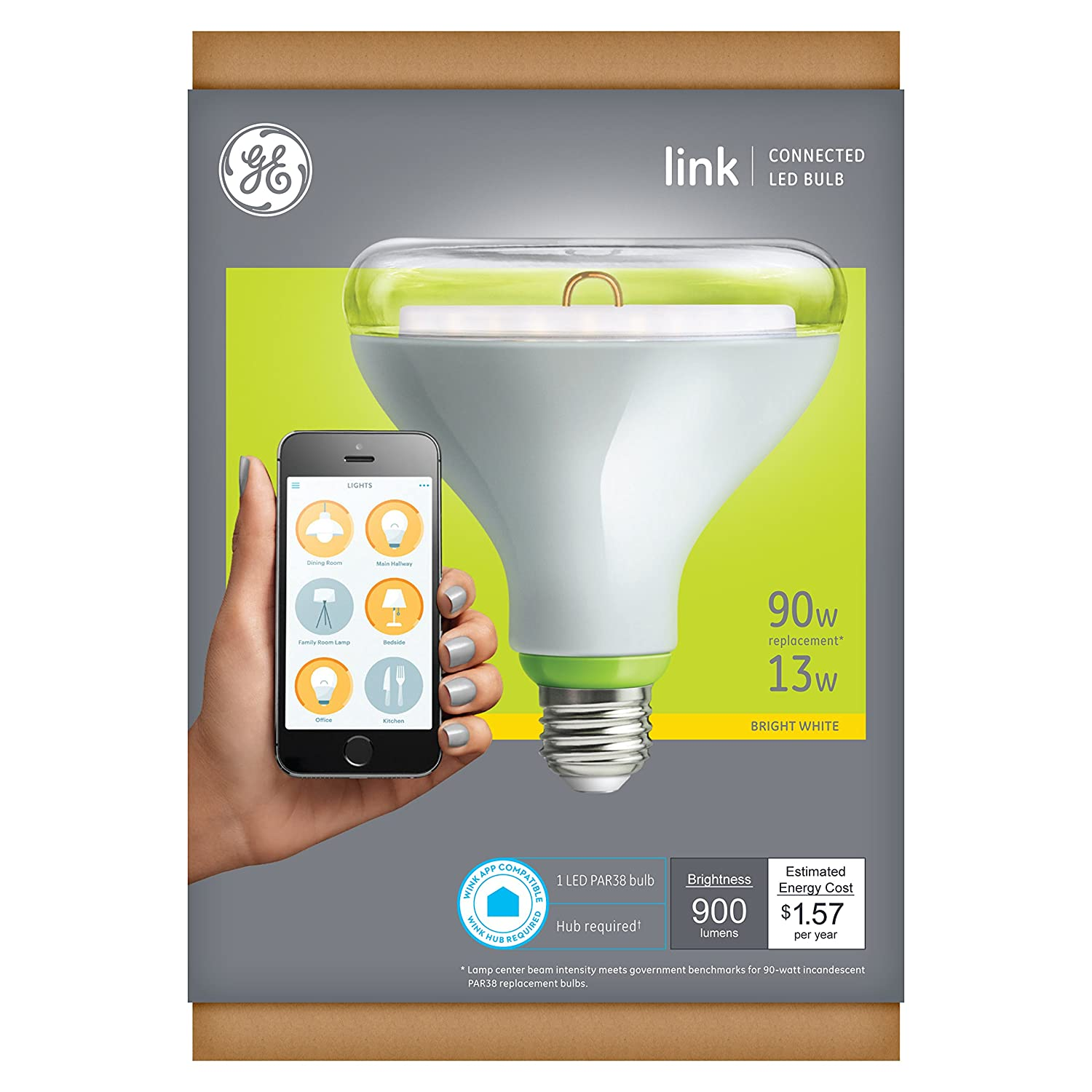 GE Link WiFi Flood Bulb