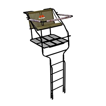 Millennium Treestands L220 18 ft. Double Ladder Stand with Folding Seats