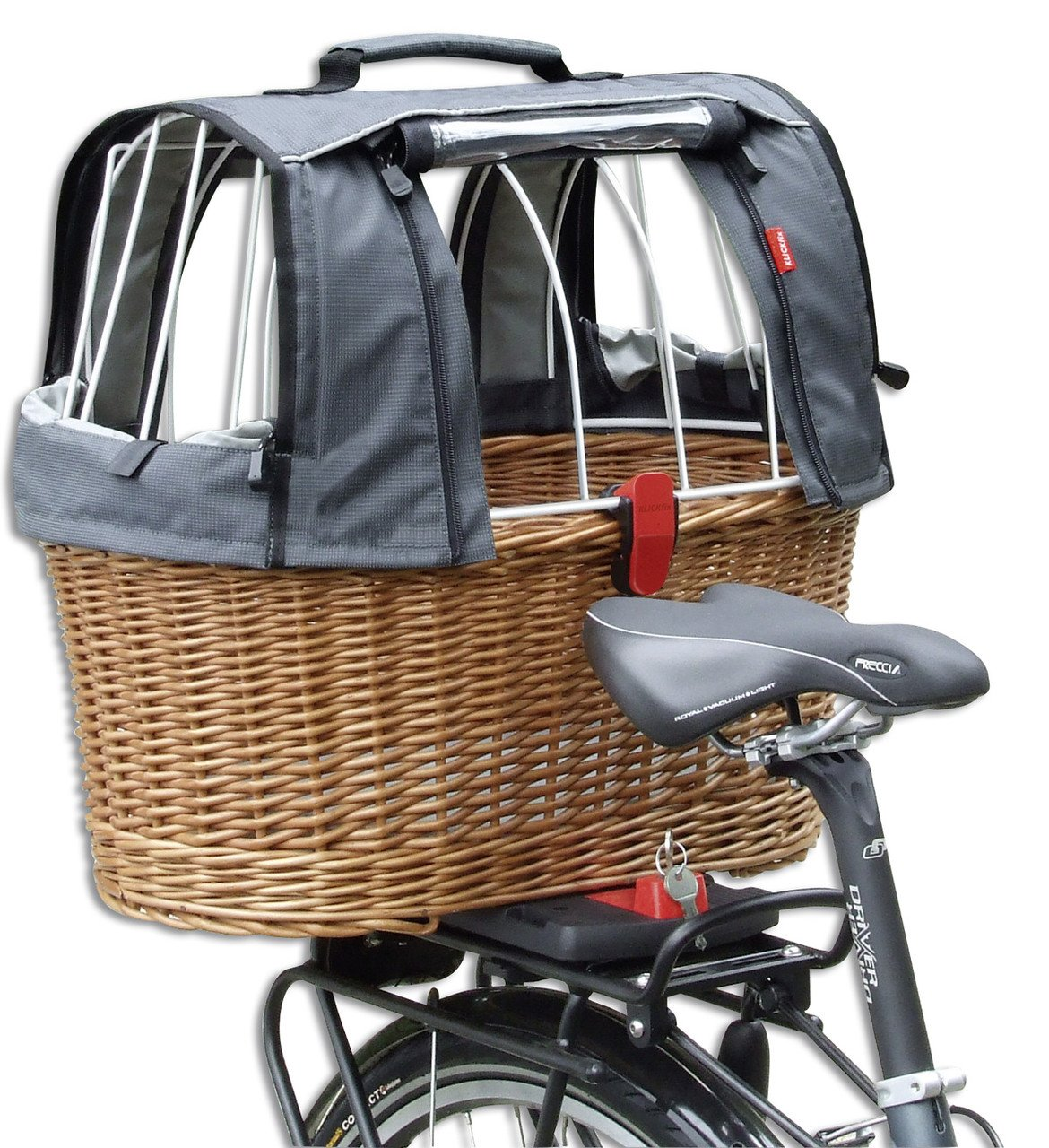 KlickFix rear basket Rixen & Kaul Doggy Basket Plus Fix