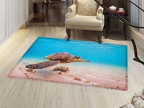 Superieur Turtle Door Mat Indoors Hawaiian Green Sea Turtle Cruises In Warm Waters Of  The Pacific Ocean