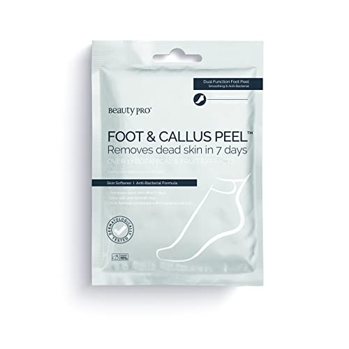 BeautyPro FOOT & CALLUS PEEL with over 16 botanical & fruit extracts