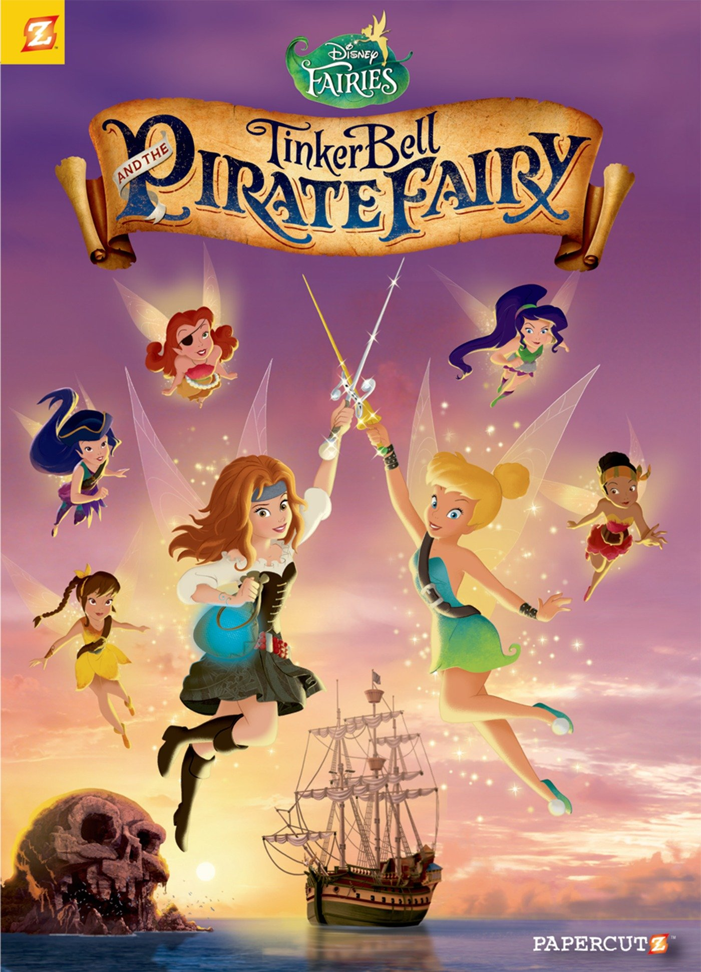 Disney Fairies Graphic Novel #16: Tinker Bell and the Pirate Fairy