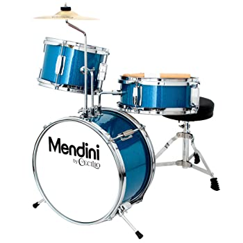 Mendini by Cecilio 13 inch 3-Piece Kids/Junior Drum Set