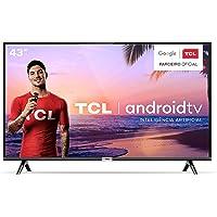 "Smart TV LED 43"" Android TCl 43s6500 Full HD com Conversor Digital Wi-Fi Bluetooth 1 USB 2 HDMI Controle Remoto com…"