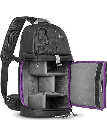 fac23fffde Altura Photo Camera Sling Backpack Bag for DSLR and Mirrorless Cameras  (Canon Nikon Sony Pentax