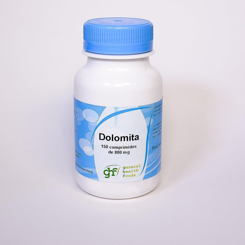GHF - GHF Dolomita 150 comprimidos de 800 mgr: Amazon.es: Salud y cuidado personal