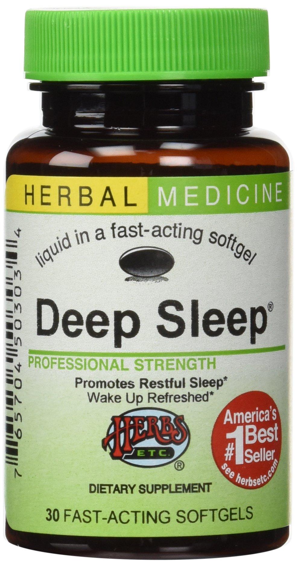 HERBS ETC. Deep Sleep, 30 CT