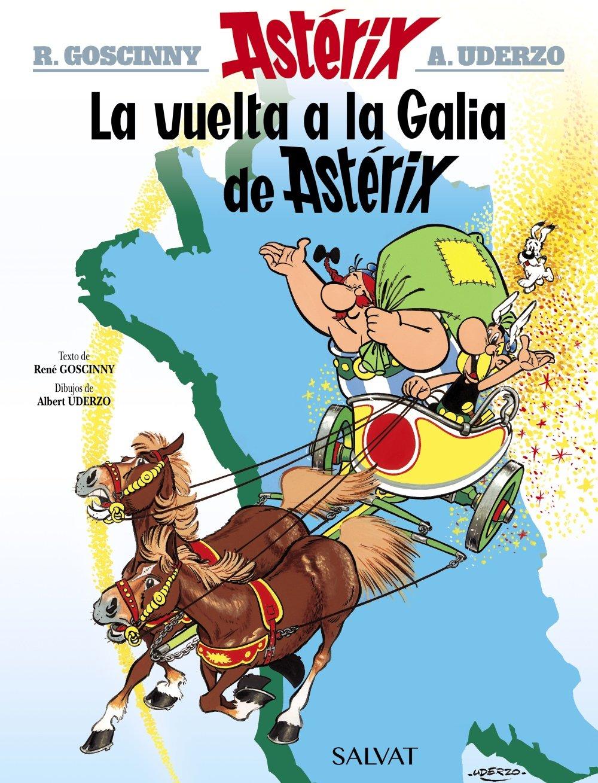 La vuelta a la Galia de Astérix Castellano - A Partir De 10 Años ...
