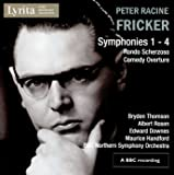 Fricker: Symphonies Nos. 1 - 4